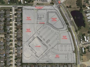 Teasley Town Square: Denton, TX Site Plan