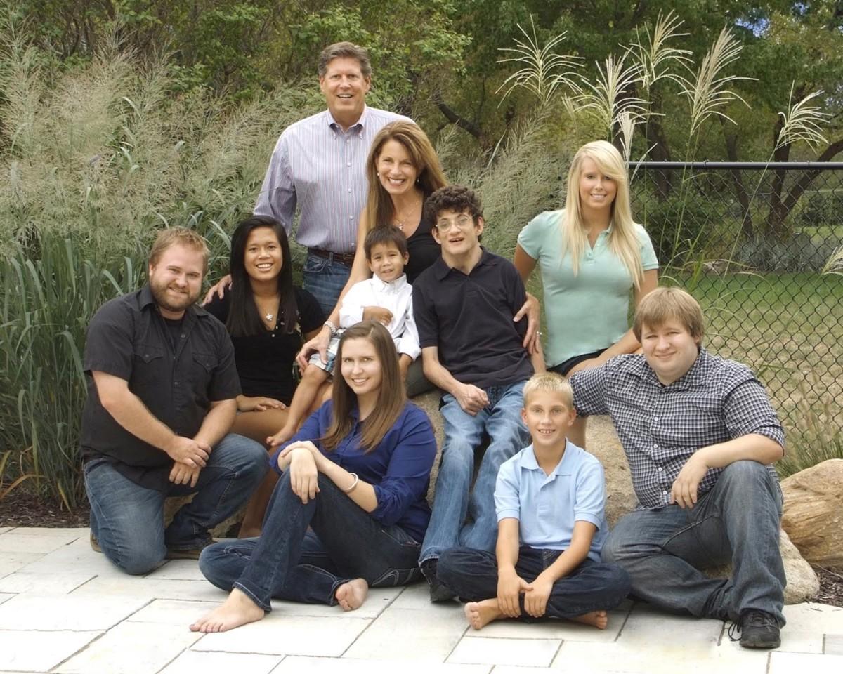 Ken Lockard Family Photograph